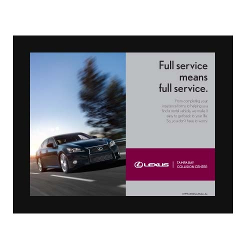 Poster Collision Center Full Service Lexus - Lexus collision center