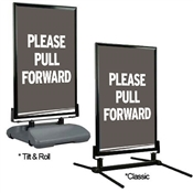 Directional Curb Sign – Pull Forward