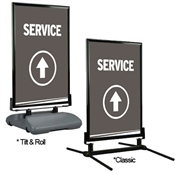 Directional Curb Sign – Service