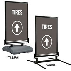 Directional Curb Sign – Tires