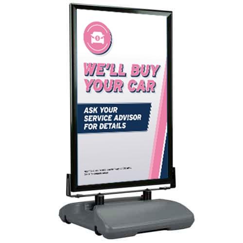 Curb Sign AutoNation Service , AutoNation Service Curb Sign