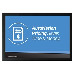 AutoNation Pricing Horizontal Sign