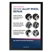 AutoNation Alloy Wheel Repair Poster