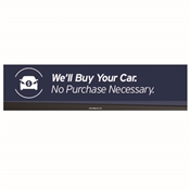 We'll Buy Your Car Vinyl Banner