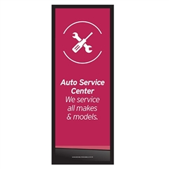 Column Graphic Auto Service