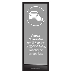 Column Graphic Repair Guarantee