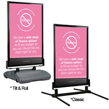 Curb Sign Hassle Free