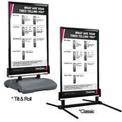 Curb Sign AutoNation Tire Wear
