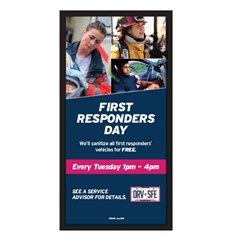 First Responders Day Service Lounge Sign – 35x72
