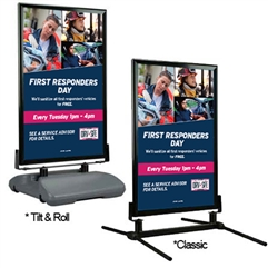 First Responders Day Curb Sign – 28x44