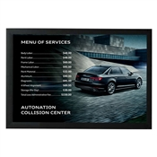 Poster- Collision Center Audi MENU