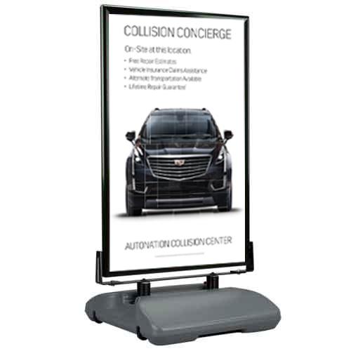 Poster- Collision Center Cadillac CONCIERGE