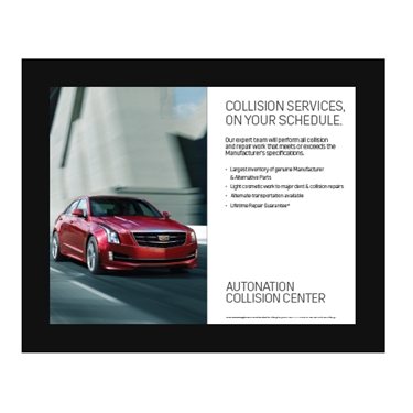 Poster- Collision Center Cadillac EXPERT