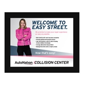 Poster- Collision Center EASY