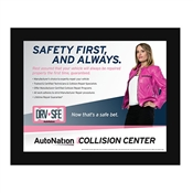 Poster- Collision Center SAFE