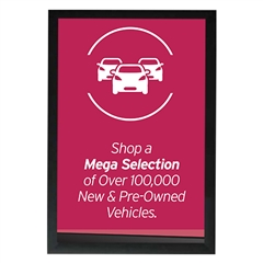 AutoNation Pre Owned Poster Mega Selection