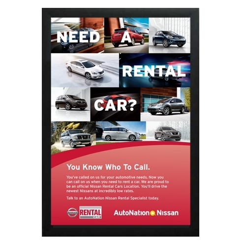 Sign, Banner, Graphic Design, Digital Printing, AutoNation Signs