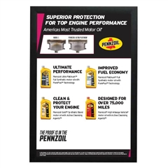 Precision Parts Pennzoil Parts Menu