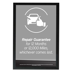 Repair Guarantee Poster