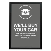 EMT We'll Buy Your Car Poster-BMW