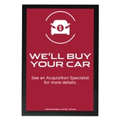 EMT We'll Buy Your Car Poster-Jaguar
