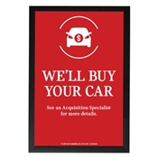 EMT We'll Buy Your Car Poster-Mini