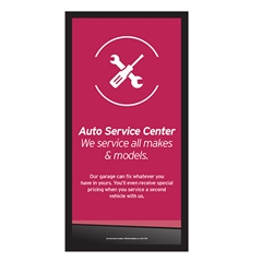 AutoNation Knowledge Center Sign Battery