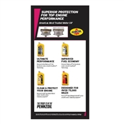 Precision Parts Pennzoil Service Lounge Price Menu