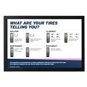 Tire Wear Horizontal Poster