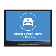 Upfront Pricing Board