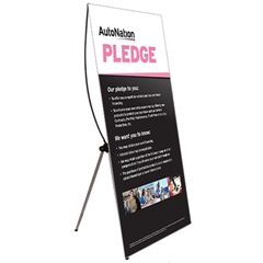AutoNation Pledge Sign X Wing